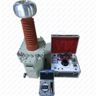 GDJZ Series Oil Immersed Mtihani Transformer AC DC Hipot Tester kwa Cable Kuhimili Voltage Testing